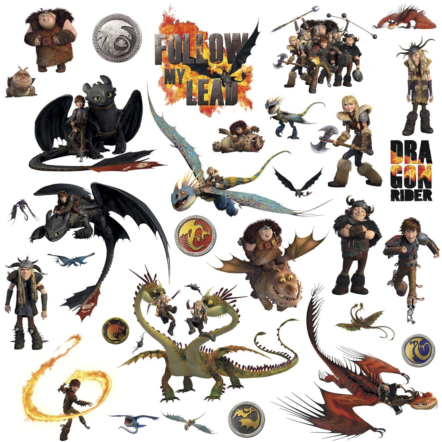How to train your dragon peel and stick wall decals how to train your dragon peel and stick wall decals ccuart Image collections